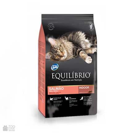 сухой корм для котов Equilibrio Salmon