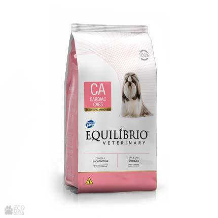 Сухой ветеринарный корм для собак с сердечно–сосудистыми заболеваниями Equilibrio Cardiac СA (новый дизайн)