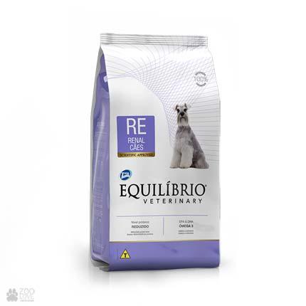 Сухой ветеринарный корм для собак с заболеваниями почек Equilibrio Renal RE (новый дизайн)