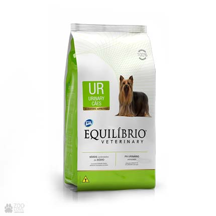 Сухой ветеринарный корм для собак с заболеваниями мочевыводящих путей Equilibrio Veterinary Urinary UR (новый дизайн)