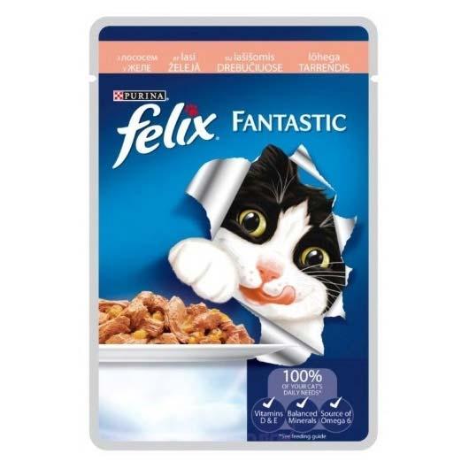 Felix Фантастик для котов лосось, 85