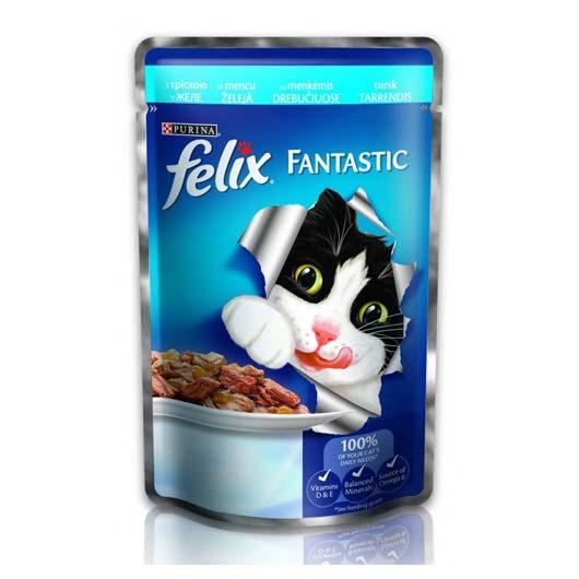 Felix Фантастик для котов треска, 100