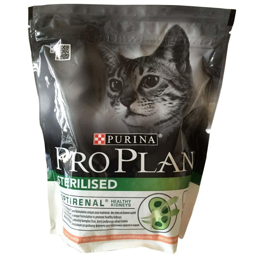 Pro plan корм для кошек для кастр.лосось