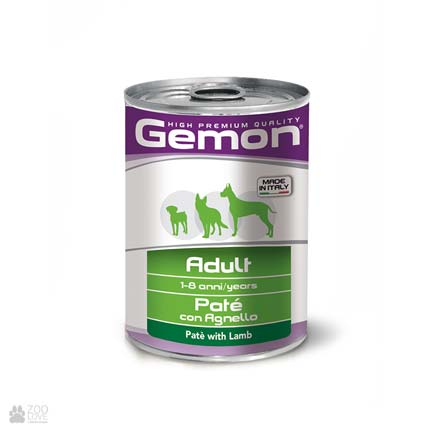 Консервы для собак Gemon Paté with Lamb, с ягненком