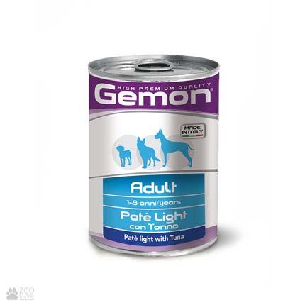 Консервы для собак Gemon Paté with Tuna, с тунцом