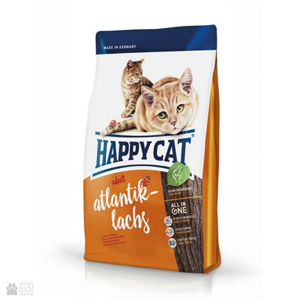 Happy Cat Adult Atlantik-Lachs, сухой корм для кошек