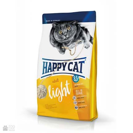 Happy Cat Adult Light, сухой корм для кошек с лишним весом