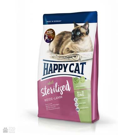 Happy Cat Adult Sterilised, сухой корм для кастрированных (стерилизованных) кошек