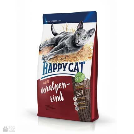Happy Cat Adult Voralpen-Rind, сухой корм для кошек