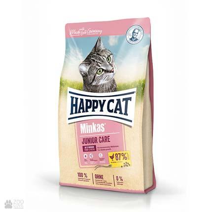 Happy Cat Minkas Junior Geflugel, сухой корм для котят
