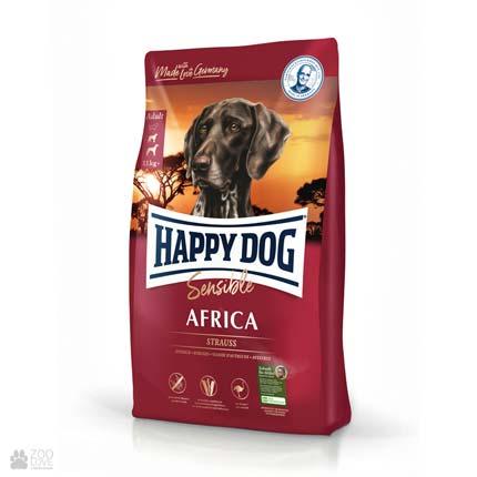 Happy Dog Sensible Africa, беззлаковый корм для собак