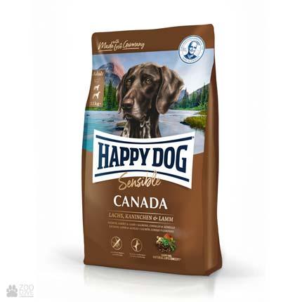 Happy Dog Sensible Canada, беззлаковый корм для собак