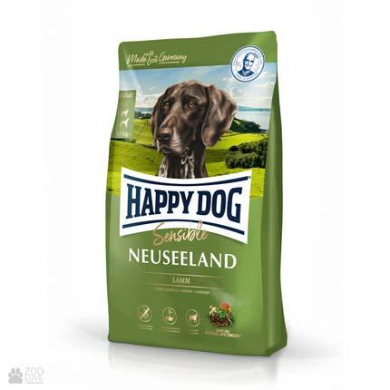 Happy Dog Sensible Neuseeland, корм для собак с ягненком и рисом