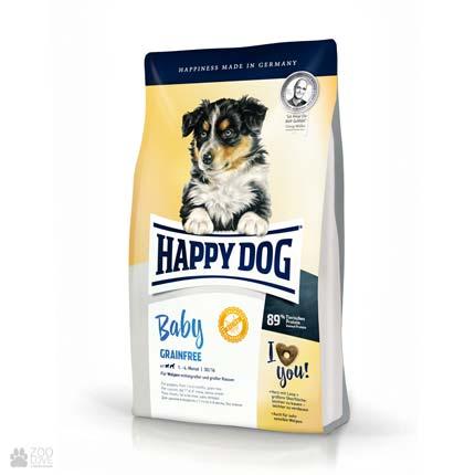 Happy Dog Baby Grainfree, беззерновой корм для щенков