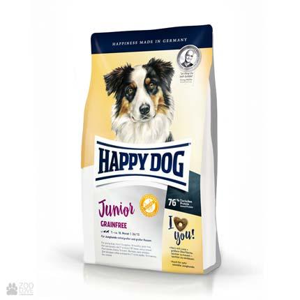 Happy Dog Junior Grainfree, беззерновой корм для щенков