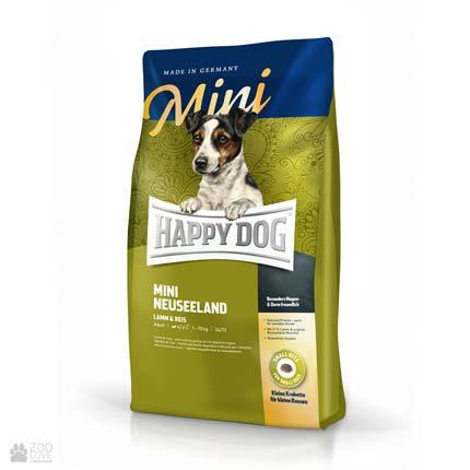 Happy Dog Mini Neuseeland, сухий корм для собак дрібних порід з чутливим травленням