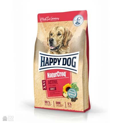 Happy Dog Naturcroq Poultry & Rice, корм для собак с домашней птицей и рисом