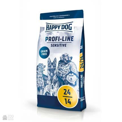 Happy Dog Profi-Line Sensitive, корм для собак с повышенными энергетическими потребностями
