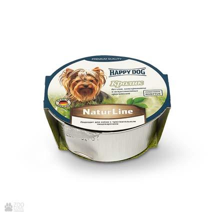 Happy Dog NaturLine Kaninchen, консервы для собак с кроликом