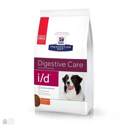 Сухой лечебный корм для собак с болезнями ЖКТ Хиллс Hill's Prescription Diet Canine i/d Digestive Care