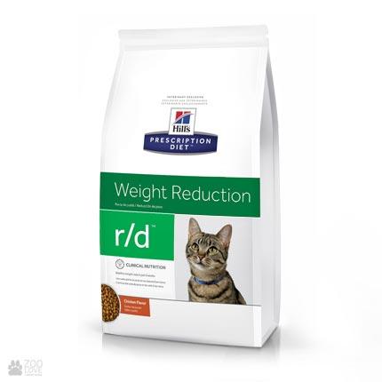 Лечебный корм Хиллс для снижения веса у кошек Hill's Prescription Diet r/d Weight Reduction