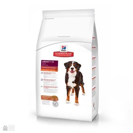 Корм для собак крупных пород Хиллс Hill's Science Plan Large Adult Advanced Fitness Lamb And Rice