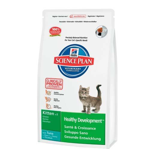 Упаковка корма Hills Science Plan Feline для котят