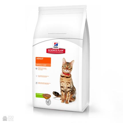 Корм для кошек Hill's Science Plan Feline Adult Optimal Care Rabbit