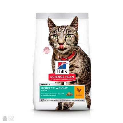 корм для кошек с избыточным весом Hill's Science Plan Adult Perfect Weight