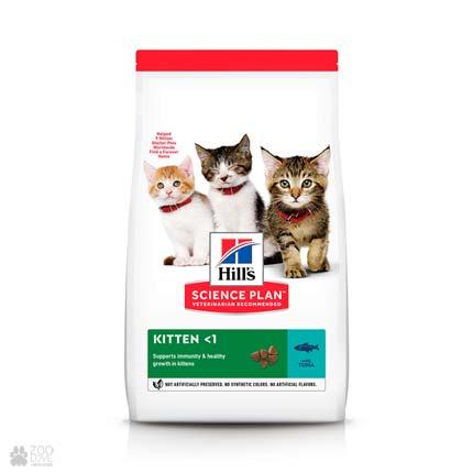 Корм для котят Хиллс Hills Science Plan Feline Tuna (дизайн с 2020 года)