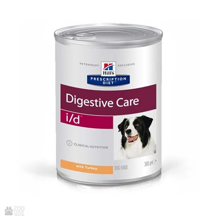 Лечебный корм для собак с болезнями ЖКТ Хиллс Hill's Prescription Diet Canine i/d Digestive Care