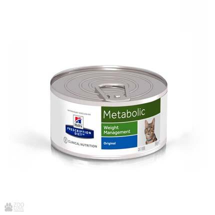 Лечебные консервы Хиллс Метаболик для кошек с диабетом Hill's Prescription Diet Metabolic Cat