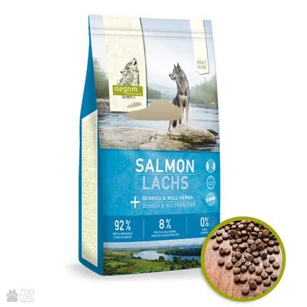Isegrim Adult Salmon Adult River, корм для взрослых собак с лососем