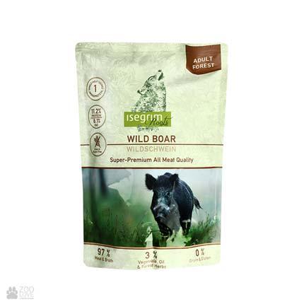 Isegrim Pouch Roots Wild Boar Monoprotein, консервы для собак с мясом кабана