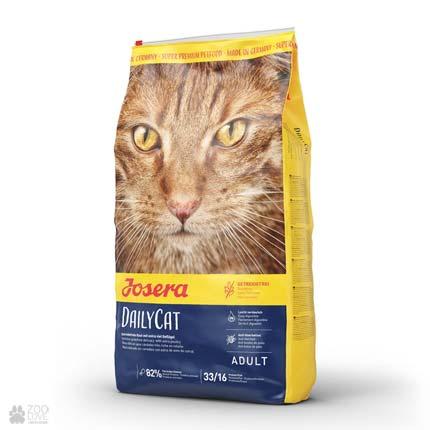 Беззерновой сухой корм для котов Josera Daylicat