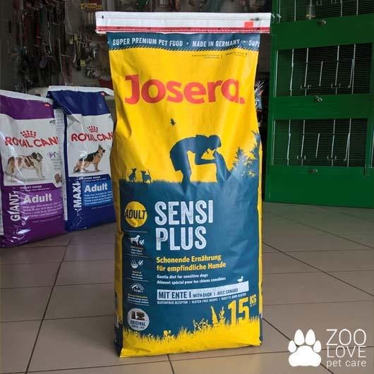 Упаковка корма Josera Sensi Plus 15кг