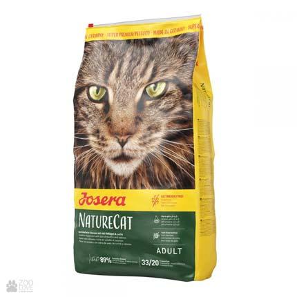 Беззерновой сухой корм для котов Josera NatureCat (йозера нейчеркет)