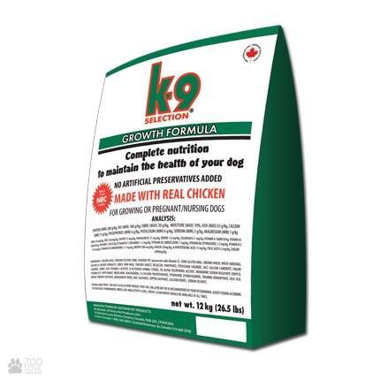 Корм для щенков K9 Selection Growth Formula