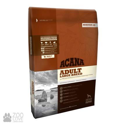 Фото упаковки корма для собак крупных пород Acana Adult Large Breed 31/15