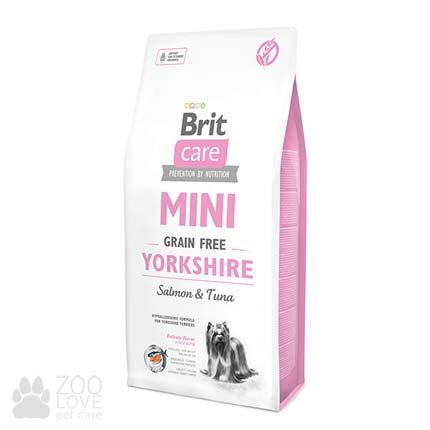 Сухой корм Brit Care Grain Free Mini Yorkshire 7 кг, для собак малых пород