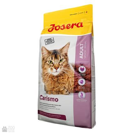 Фото упаковки корма для котов Josera Carismo 10 кг