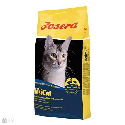 Фото корма для котов Josera Josicat Ente & Fisch 10 кг