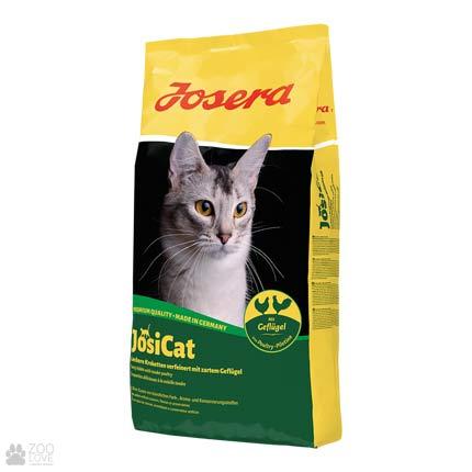 Фото корма для котов Josera Josicat Geflügel 10 кг