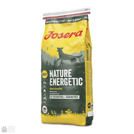 Фото упаковки сухого корма для собак Josera Nature Energetic 15 кг