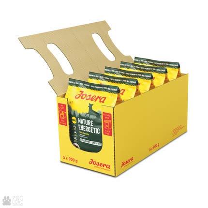 Фото упаковки сухого корма для собак Josera Nature Energetic 5 х 0,9 кг