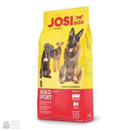 Фотография корма для собак Josidog Agilo Sport 26/16, мешок 18 кг