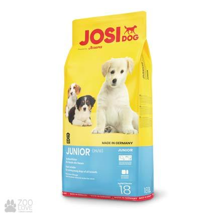 Фотография корма для щенков Josidog Junior 25/13, мешок 18 кг