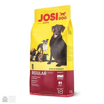Фотография корма для собак со столовым буряком Josidog Regular 25/15, мешок 18 кг