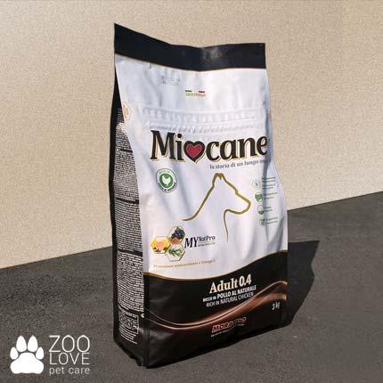 Новая упаковка корма для собак Morando Miocane Adult 0.4 с курицей 3 кг