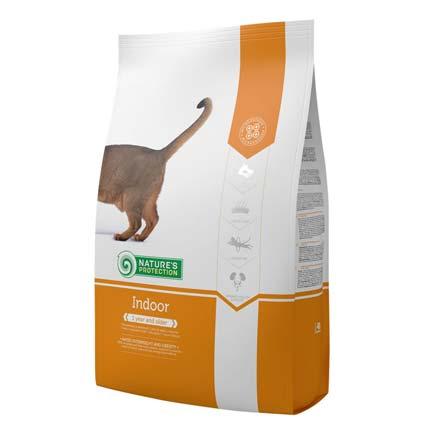 Упаковка сухого корма для кошек Nature's Protection Indoor, 2 кгр (старый дизайн)